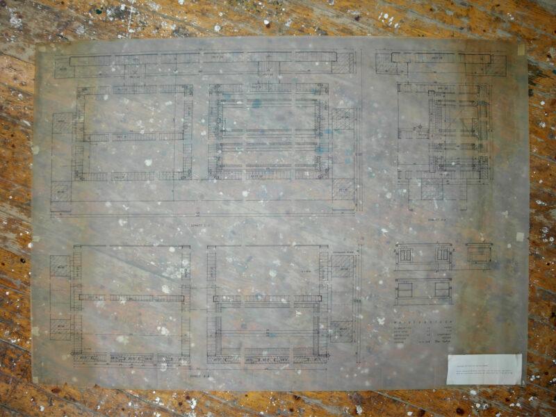 Plan Schreibtisch