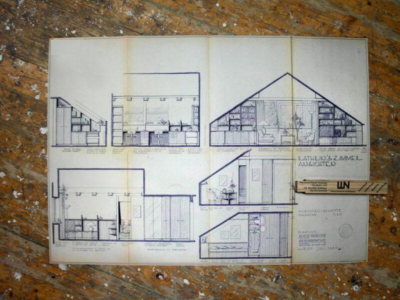 Plan Kathrins Zimmer